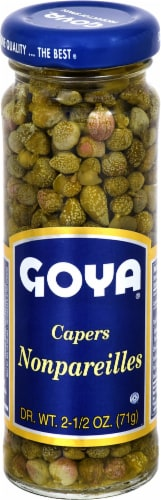 Goya Capers Nonpareilles Perspective: front