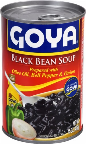Goya Black Bean Soup Perspective: front
