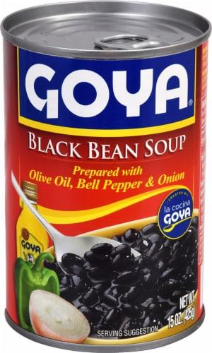 Goya Black Bean Soup Perspective: front
