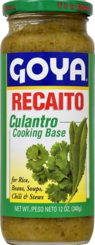 Goya Recaito Cilantro Cooking Base Perspective: front