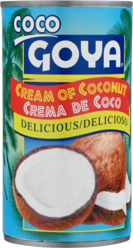 Goya Cream of Coconut Perspective: front