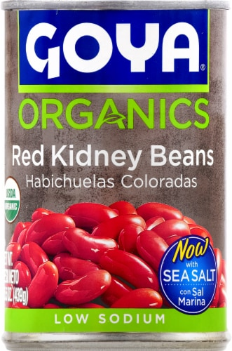 Goya Organic Red Kidney Beans Perspective: front