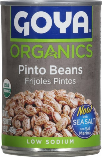 Goya Organics Pinto Beans Perspective: front