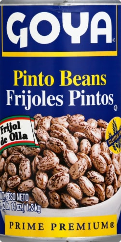 Goya Canned Pinto Beans Perspective: front