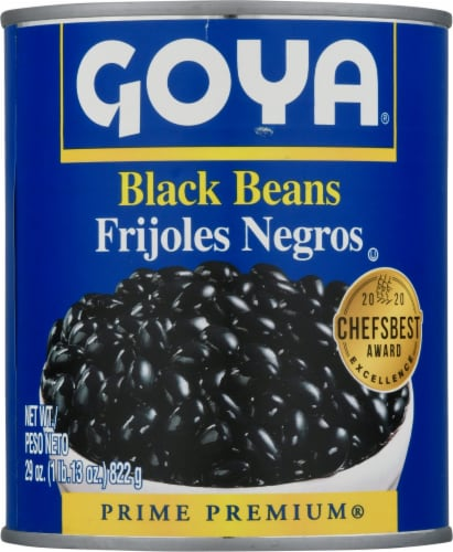 Goya Black Beans Perspective: front