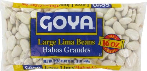 Goya Large Lima Beans Perspective: front