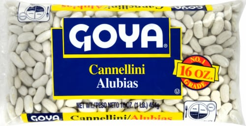 Goya Cannellini White Kidney Beans Perspective: front