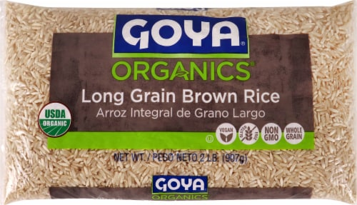 Goya Organic Brown Rice Perspective: front