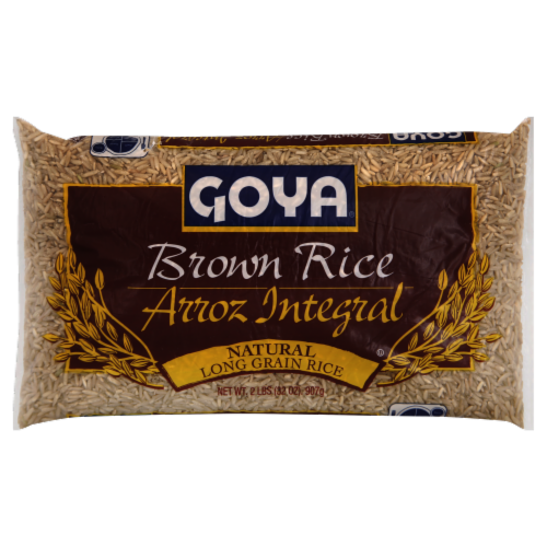 Goya Brown Rice Perspective: front