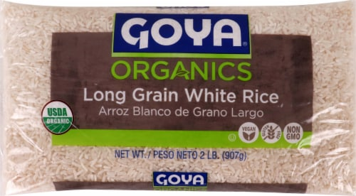 Goya Organic Long Grain Rice Perspective: front