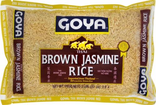 Goya Thai Brown Jasmine Rice Perspective: front