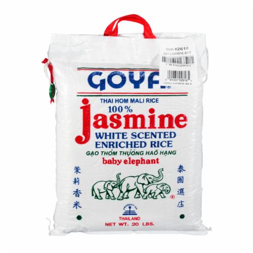 Goya Jasmine Rice Perspective: front