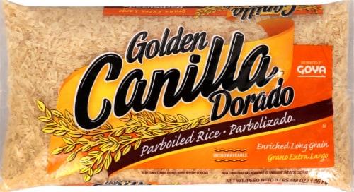 Golden Canilla Dorado Parboiled Rice Perspective: front