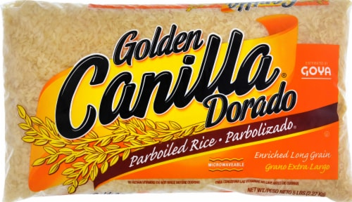 Goya Golden Canilla Parboiled Rice Perspective: front