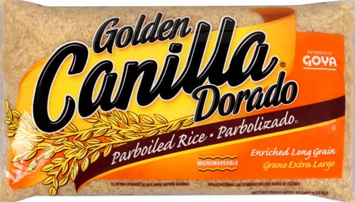 Golden Canilla Dorabo Parboiled Rice Perspective: front