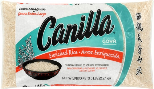 Goya Canilla Long Grain Rice Perspective: front