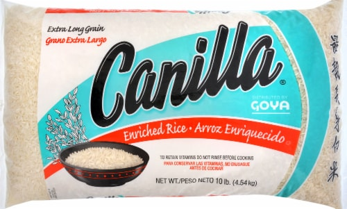 Goya Canilla Extra Long Grain Enriched Rice Perspective: front