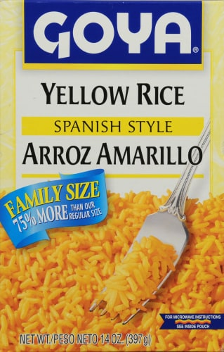 Goya Yellow Rice Family Pack Perspective: front