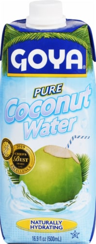 Goya Coconut Water Perspective: front