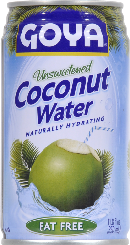 Goya Unsweetend Coconut Water Perspective: front
