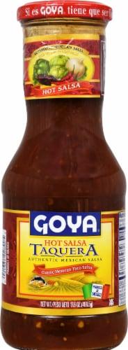 Goya Taquera Hot Mexican Taco Salsa Perspective: front