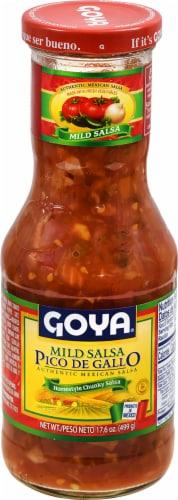 Goya Mild Pico De Gallo Salsa Perspective: front