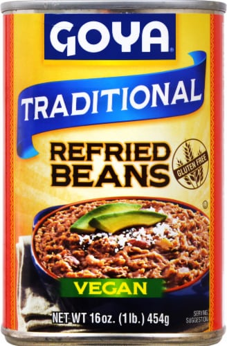 Goya Refried Pinto Beans Perspective: front