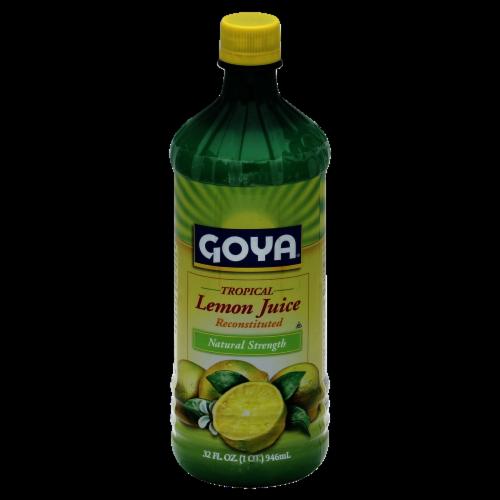 Goya Lemon Juice Perspective: front