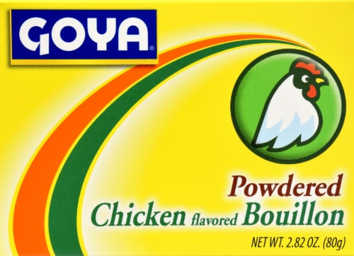 Goya Chicken Bouillon Perspective: front