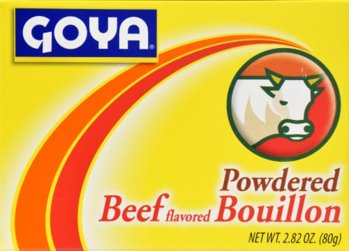 Goya Powdered Beef Bouillon Perspective: front