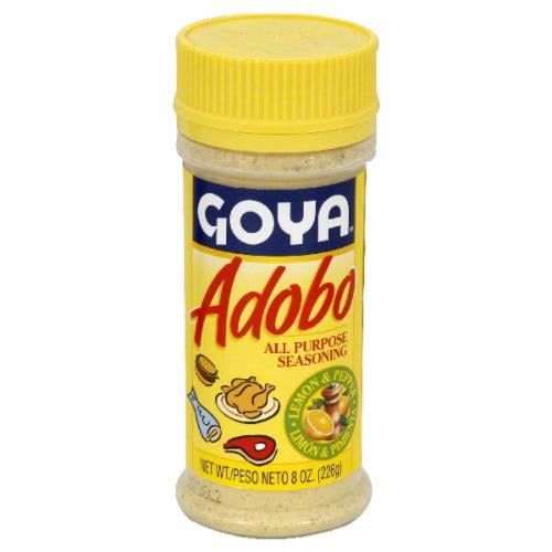 Goya Adobo Seasoning With Lemon Perspective: front
