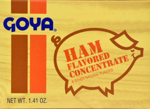 Goya Ham Flavored Concentrate Perspective: front