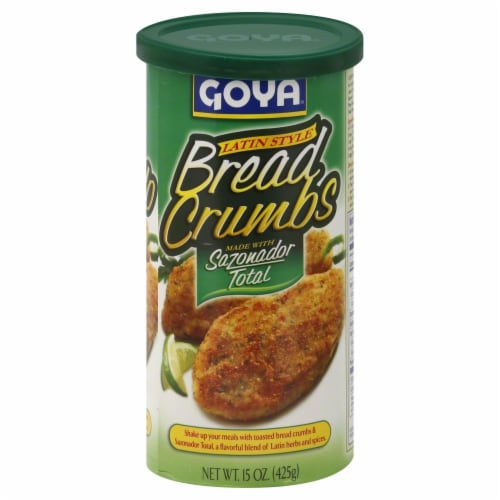 Goya Latin Style Bread Crumbs Perspective: front