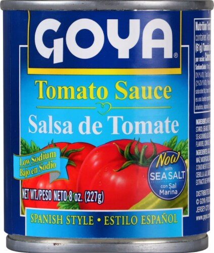 Goya Low Sodium Tomato Sauce Perspective: front