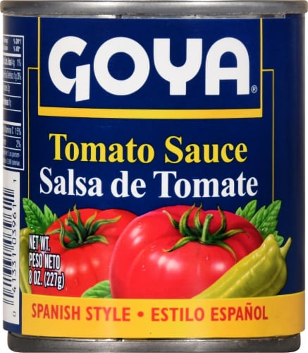 Goya Tomato Sauce Salsa de Tomate Perspective: front