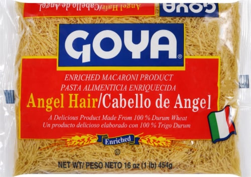 Goya Angel Hair Pasta Perspective: front