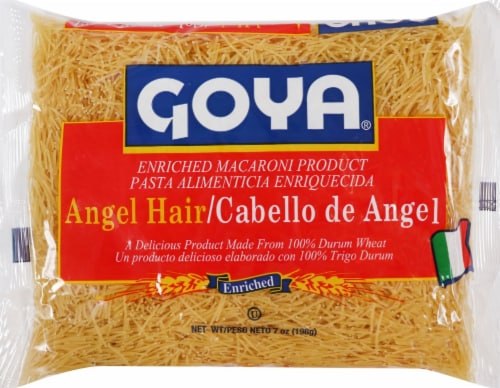Goya Vermcelli Angel Hair Pasta Perspective: front