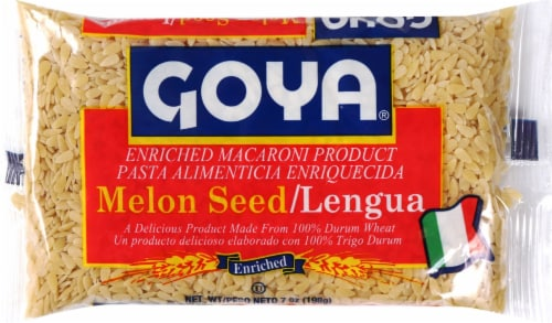 Goya Melon Seed Pasta Perspective: front