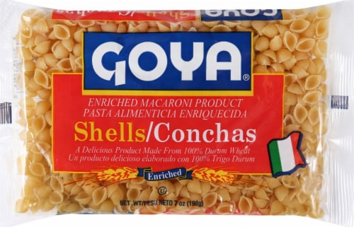 Goya Shell Pasta Perspective: front