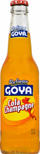 Goya Refresco Cola Champagne Perspective: front