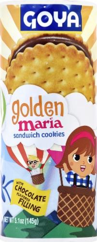 Goya Golden Maria Sandwich Cookies Perspective: front