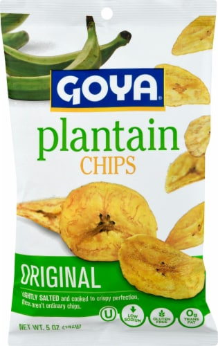 Goya Plantain Chips Perspective: front
