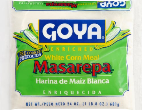 Goya Masarepa White Corn Meal Perspective: front