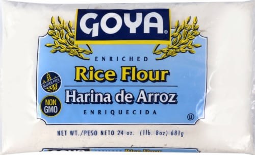 Goya Rice Flour Perspective: front