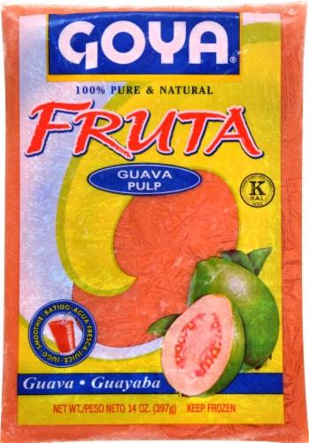Goya Fruta Guava Pulp Perspective: front