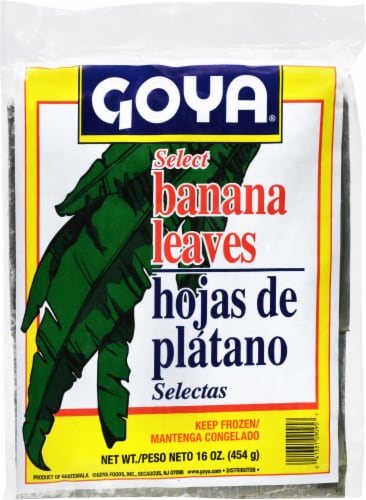 Goya Hojas de Platano Banana Leaves Perspective: front