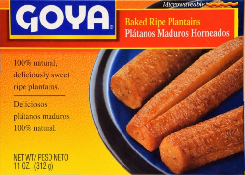 Goya Baked Ripe Plantains Perspective: front