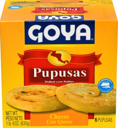 Goya Cheese Pupusa Perspective: front