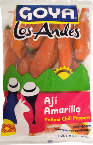 Goya Los Andes Yellow Chili Peppers Perspective: front