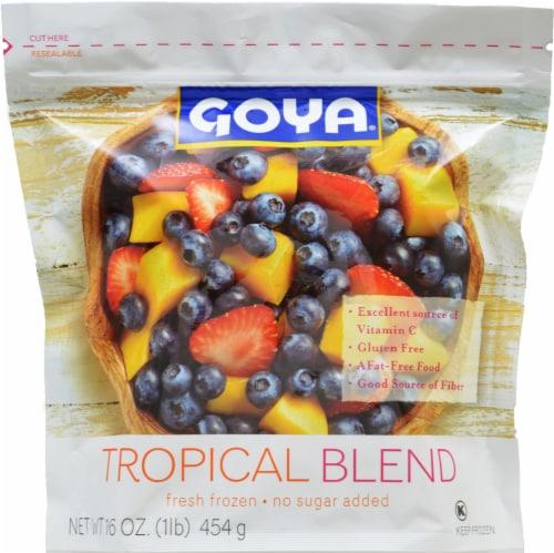 Goya Tropical Blend Fresh Frozen Fruit Perspective: front